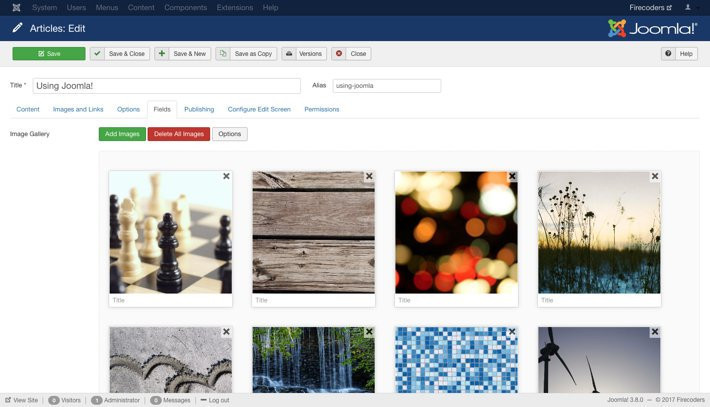 Showtime Image Gallery for Joomla