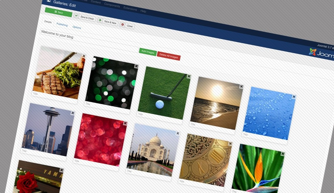 Showtime Image Gallery for Joomla!